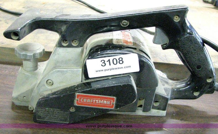 craftsman hand planer. 3108 image for item craftsman hand planer s