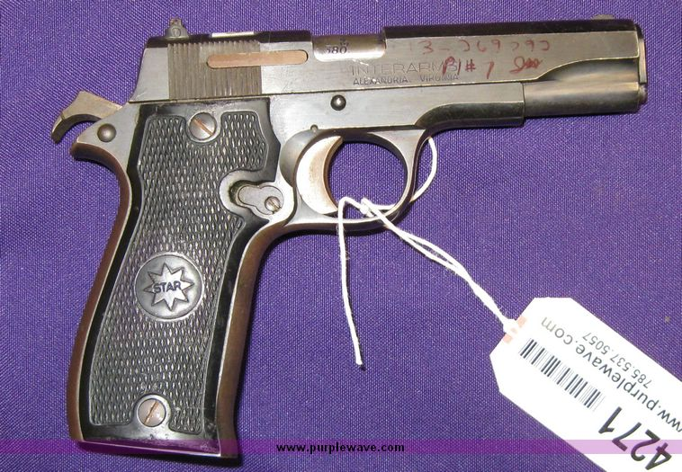 Item 4271 | SOLD! January 29 Dealers Only Firearms Intern