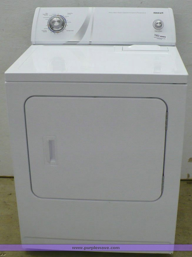 item 7953 sold! may 19 kansas city area internet only a admiral dryer manual aed4675yq1 admiral dryer aed4475tq1 wiring diagram