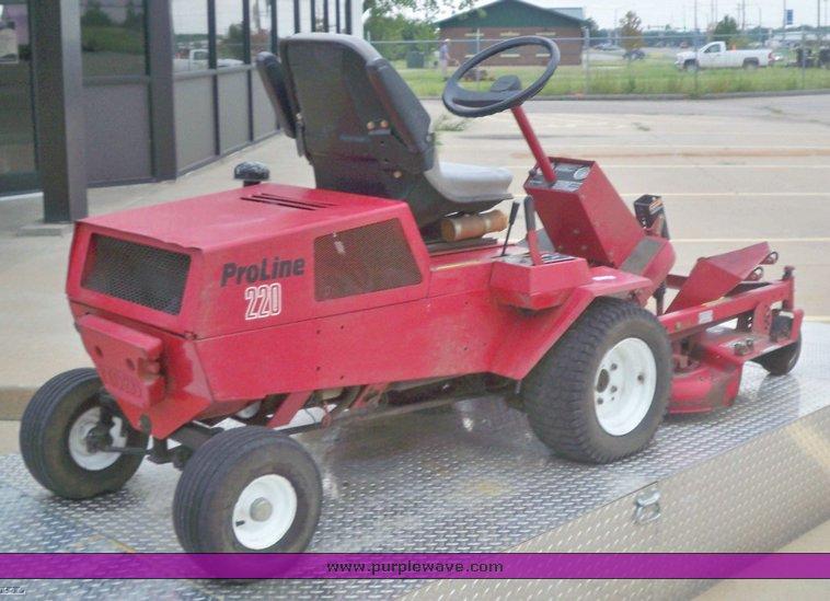 Toro Proline 220 Riding Lawn Mower Item 5161 9 16 2009