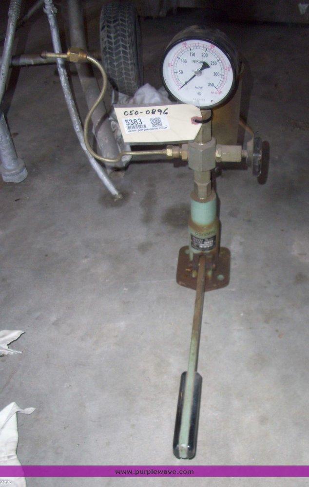 Zexel diesel injector tester   Item 5383   SOLD! September 2
