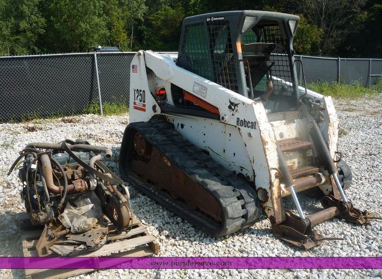 2003 bobcat t250 skid steer parts machine item 2025. Black Bedroom Furniture Sets. Home Design Ideas