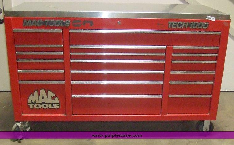 Mac Tools Tech 1000 tool box | Item 6076 | SOLD! October 6 G...