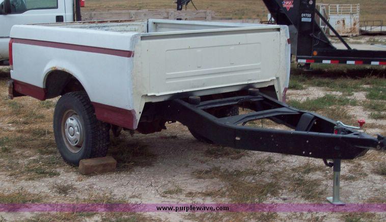 Shop built pickup bed trailer | Item 8746 | SOLD! October ...