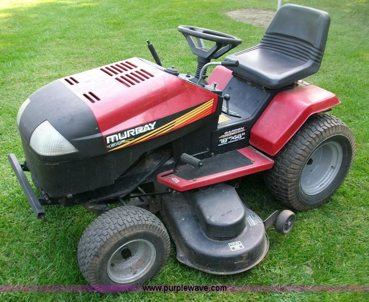 Murray Lawn Tractor Transaxle : Murray gt lawn mower item sold october