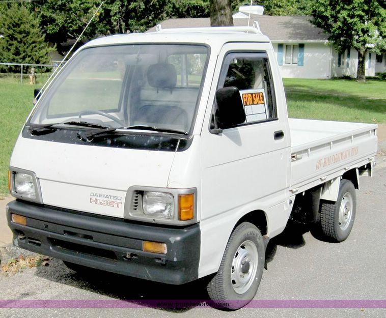 1992 Daihatsu Hijet 583P Mini Truck