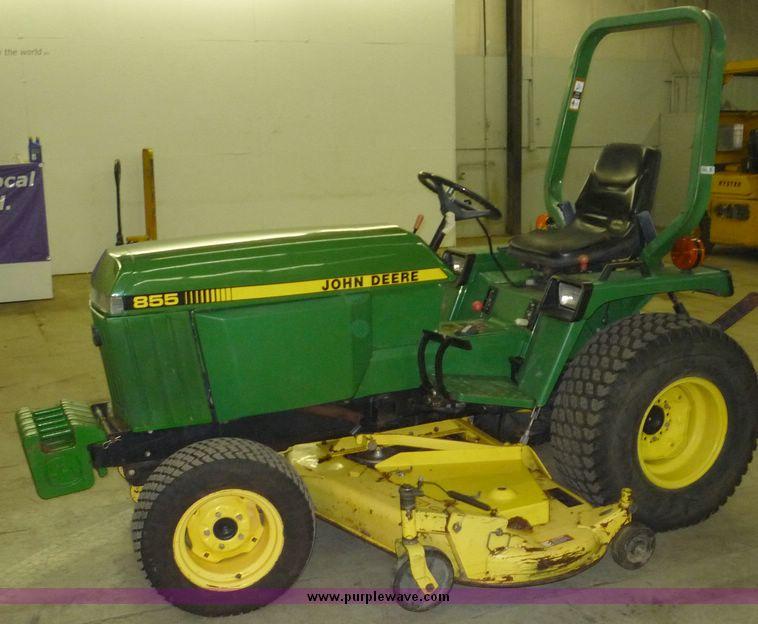 1995 John Deere 855 utility tractor | Item 2232 | SOLD! Octo