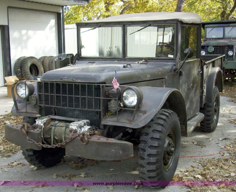 1951 Dodge M37 military truck | Item 4150 | SOLD! Wednesday ...