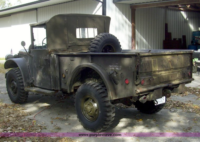 1951 Dodge M37 military truck | Item 4150 | SOLD! Wednesday