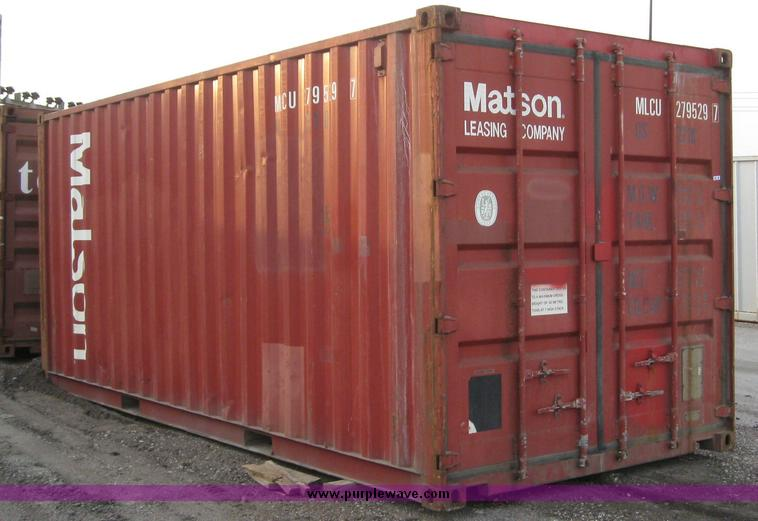 20 storage container Item 6569 SOLD December 2 Midwest