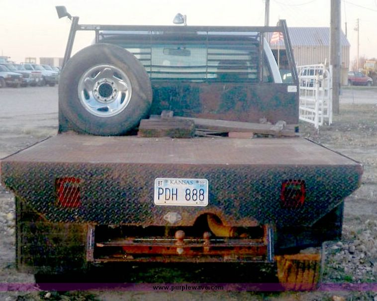 1994 Dodge Ram 2500 pickup with flatbed  Item 6588  SOLD