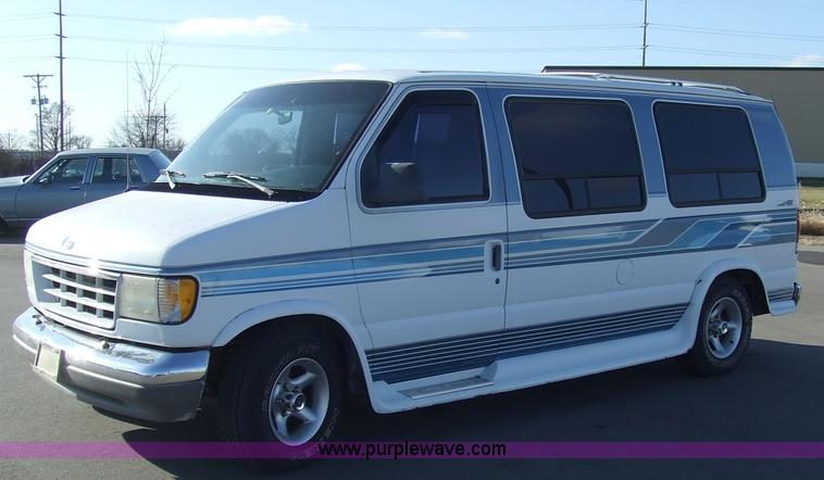 6599 Image For Item 1993 Ford Trans Air Econoline E150 Seven Passenger Conversion Van