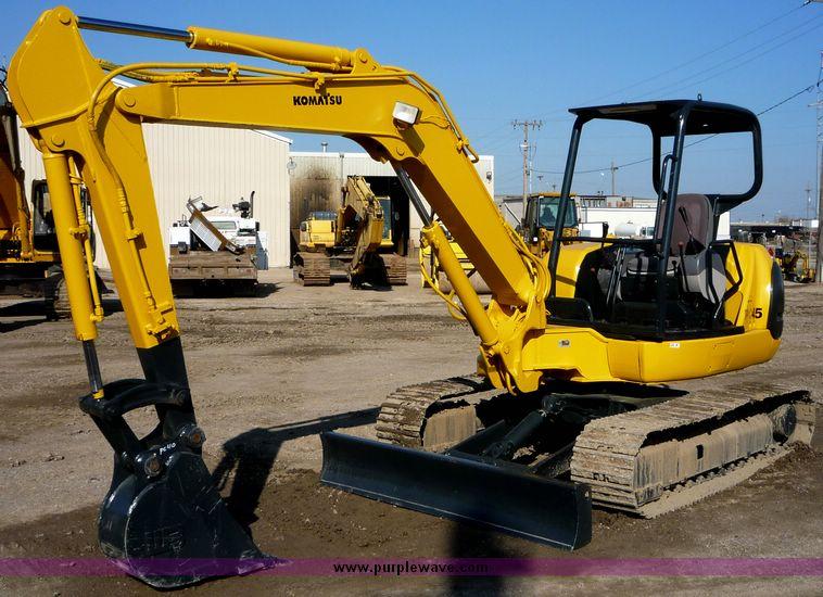 Komatsu pc45 hydraulic excavator for sale from united states.