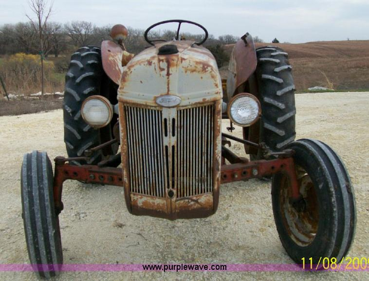 1948 Ford 8n Tractor Item 1500 Sold December 29 Ag