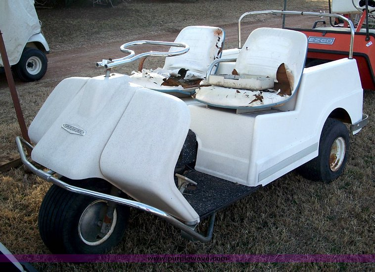 Harley-Davidson three wheeled golf cart | Item 5289 | SOLD! ...