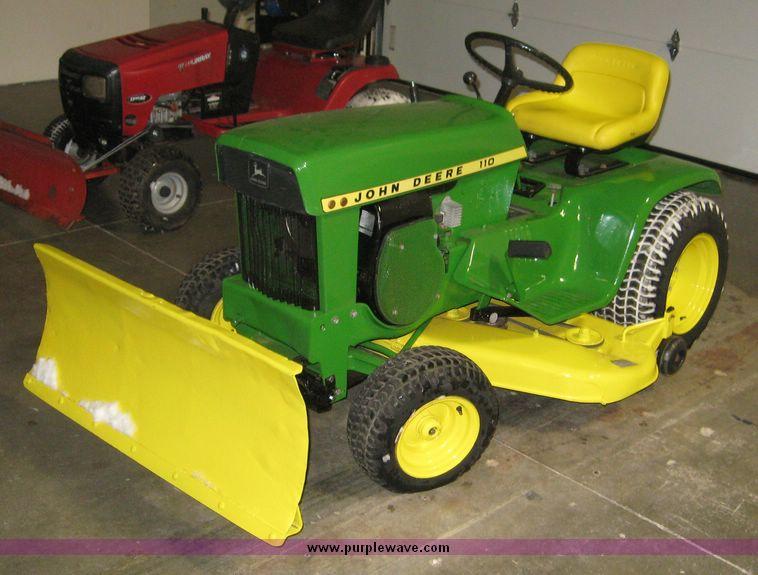 John Deere 110 Garden Tractor Attachments : John deere garden tractor attachments ftempo