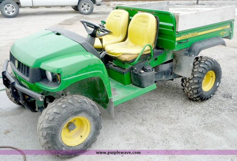 2004 john deere hpx gator item 5146 sold january 21. Black Bedroom Furniture Sets. Home Design Ideas
