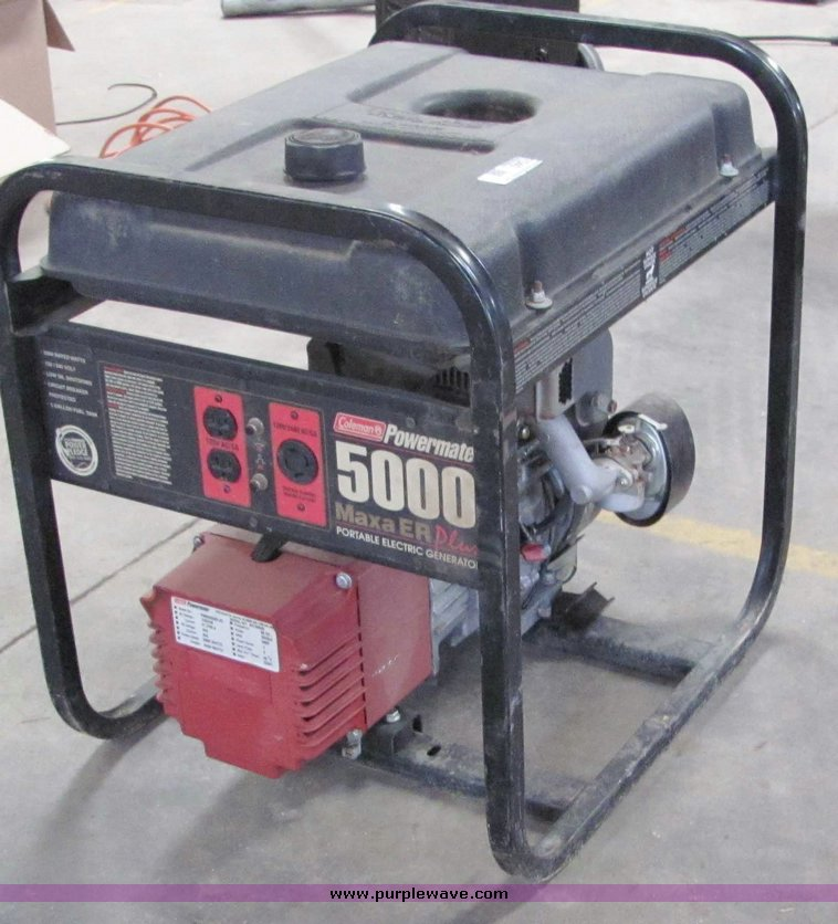 coleman powermate 5000 generator repair manual