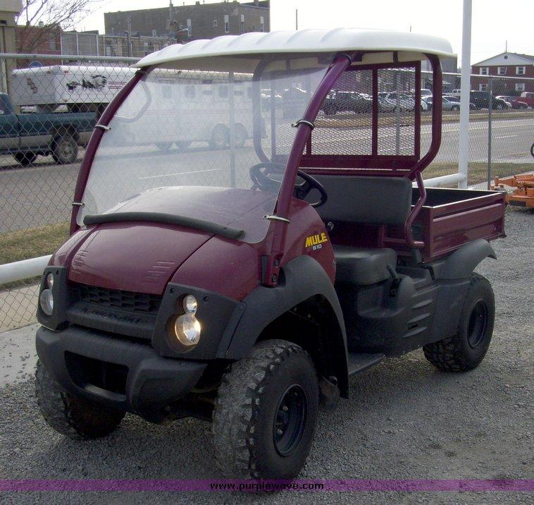 2009 Kawasaki Mule 610   Item 8064   SOLD! January 21 Constr
