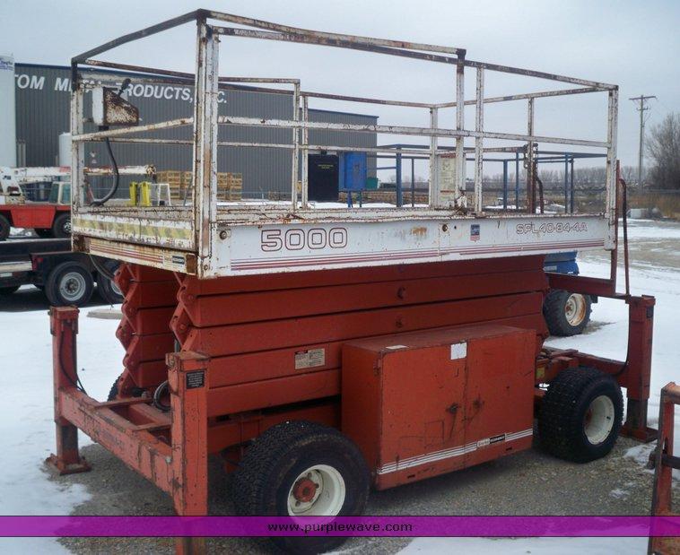 Trucks For Sale Wichita Ks >> Snorkel Economy 5000 all terrain scissor lift | Item 8079
