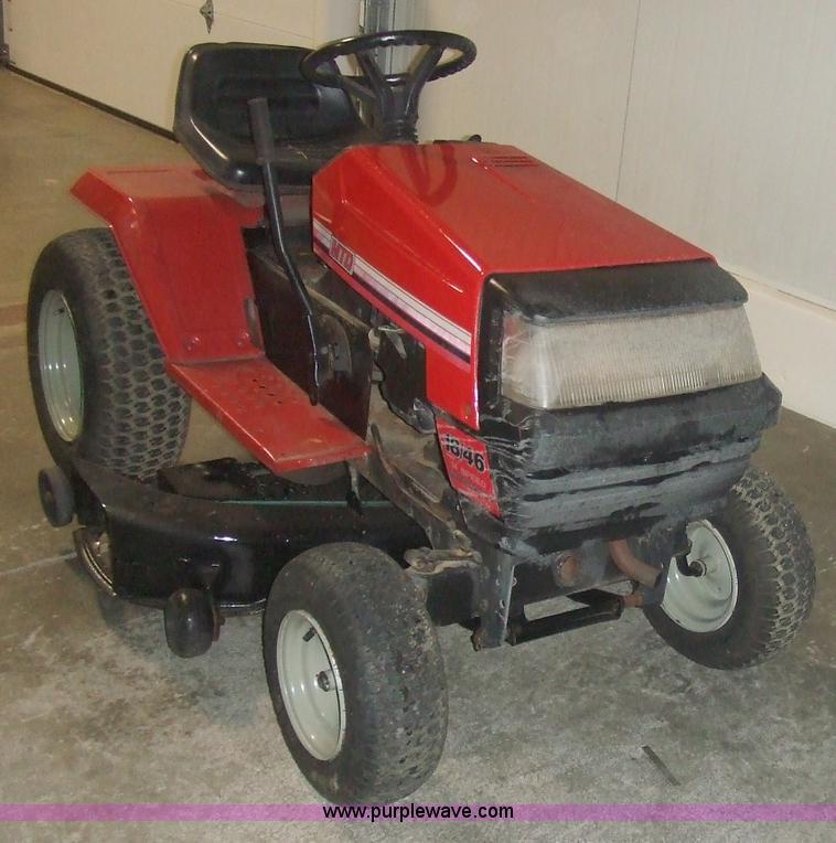 Mtd Lawn Tractor : Mtd riding lawn mower item sold january
