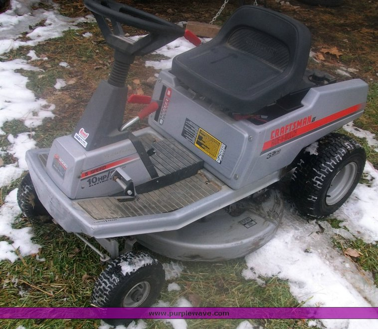 Craftsman 2 Riding Mower : Craftsman quot mulch and ride riding lawn mower item