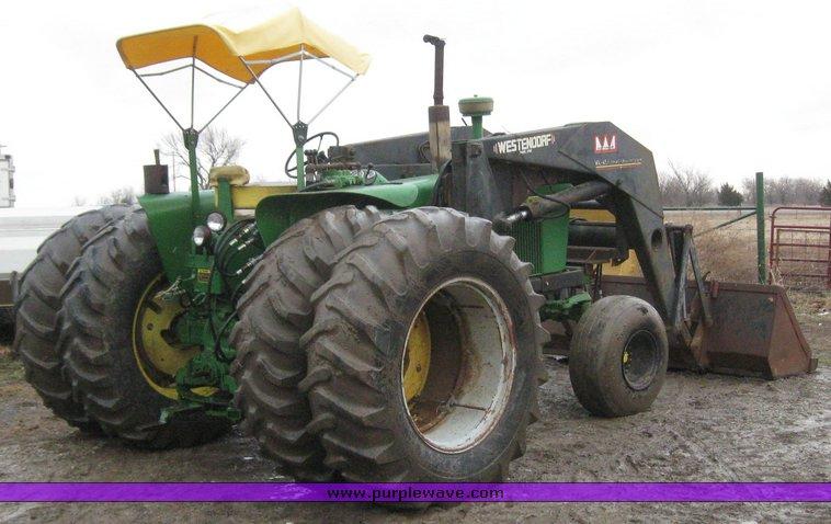 John Deere 4010 Wheatland : John deere wheatland tractor with loader item