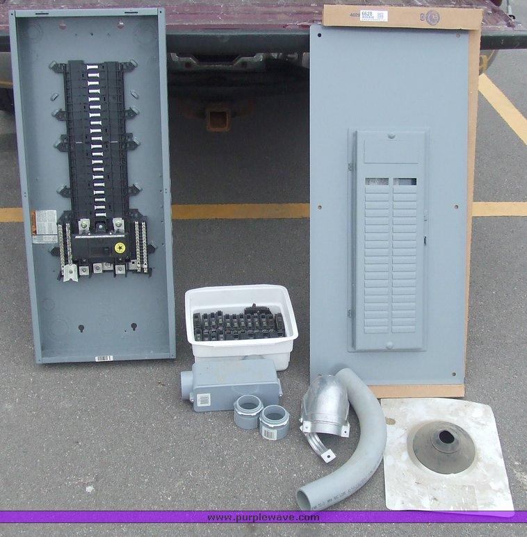 200 Amp Breaker Box With Accessories In Manhattan Ks Item 6628 Sold Purple Wave