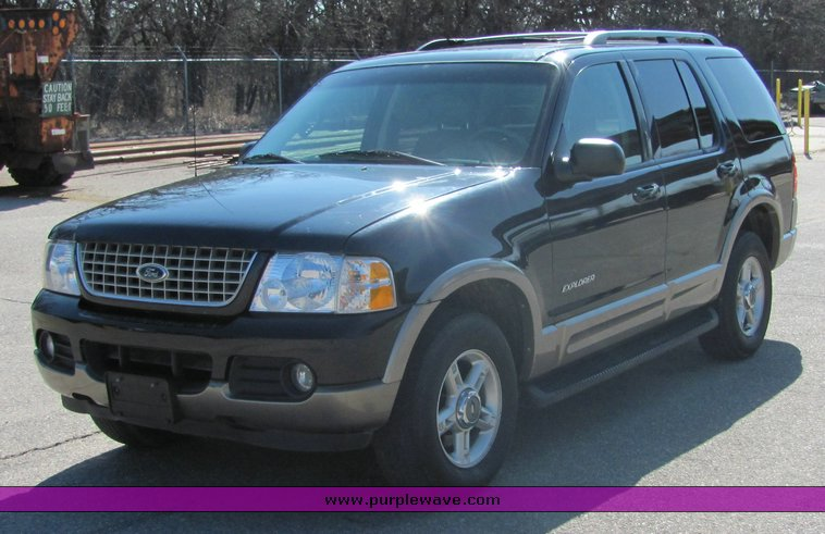 2002 ford explorer eddie bauer edition sport utility vehicle. Black Bedroom Furniture Sets. Home Design Ideas