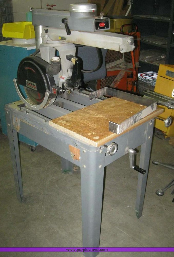 Delta Rockwell radial arm saw | Item 7962 | SOLD! March 23 I