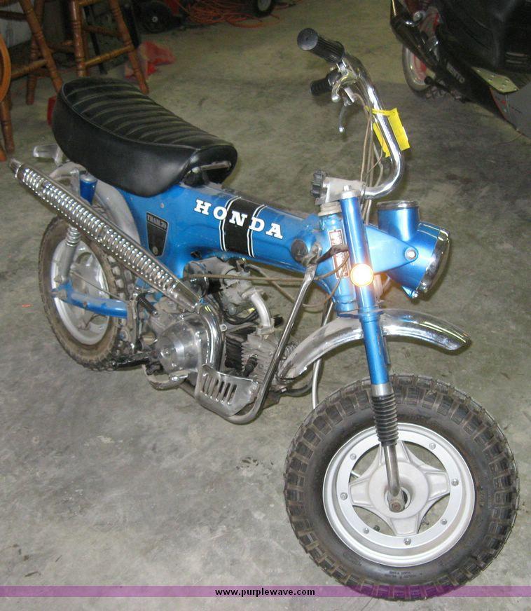 7842 Image For Item 7842 Honda Trail 70 Trail Bike