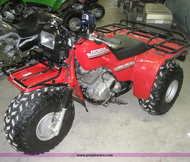 1985 Honda Atc 250 Es Big Red Three Wheeler