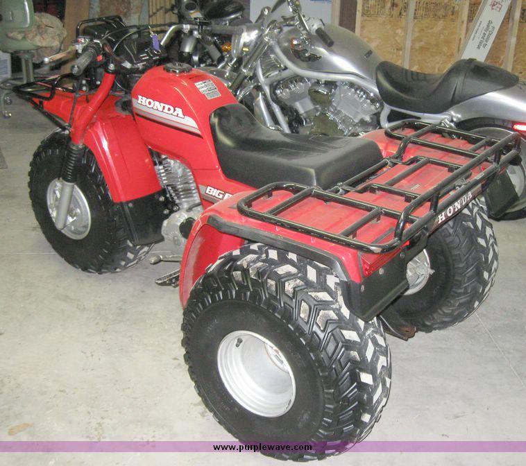 1985 Honda ATC 250 ES Big Red three wheeler   Item 7849   SO