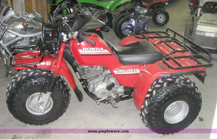 1985 Honda ATC 250 ES Big Red three wheeler | Item 7849 | SO