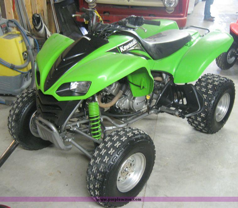 2004 Kawasaki KFX 700 four wheeler   Item 7852   SOLD! March...