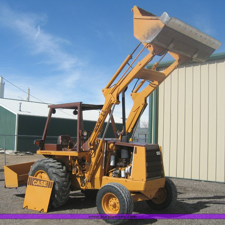 1986 case 480e ll tractor with loader item 9003 sold! ma  9003 image for item 9003 1986 case 480e ll tractor with loader