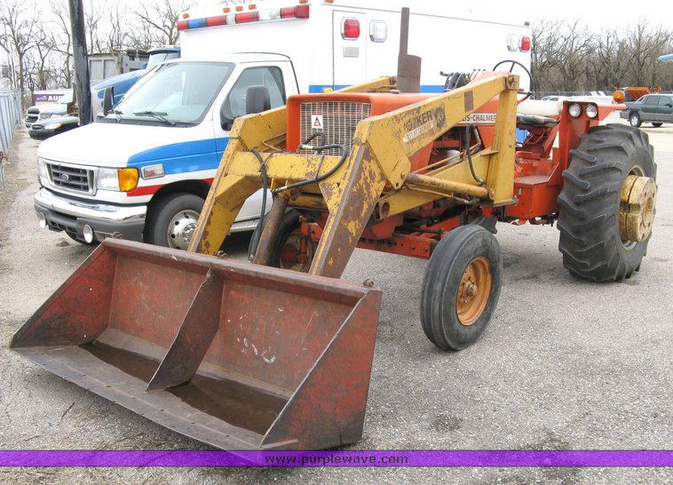 Allis-Chalmers 180 tractor with Koyker K5 loader | Item 3000