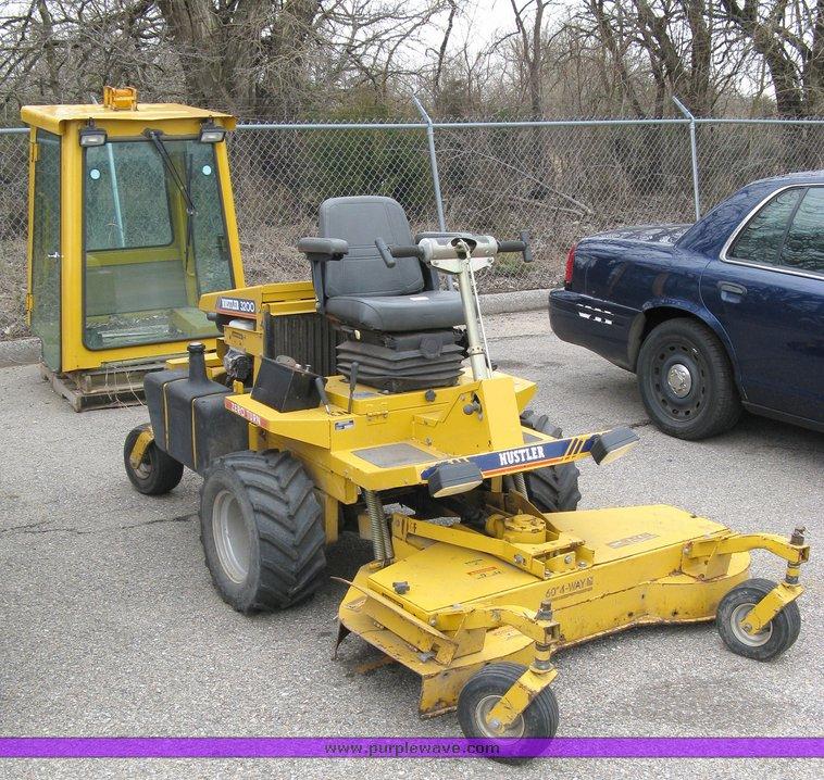 hustler 3200 mower used