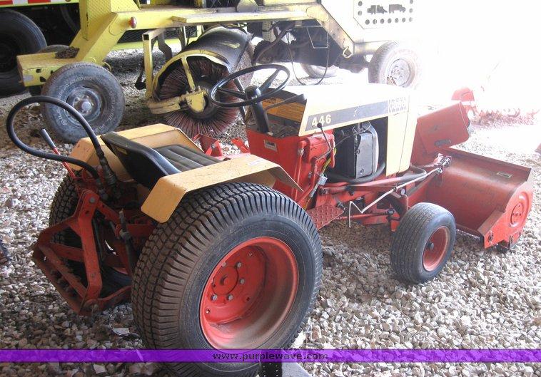 case 446 garden tractor serial numbers