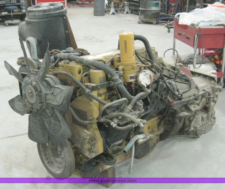 1999 Caterpillar 3126 engine and Allison MD3560 transmission