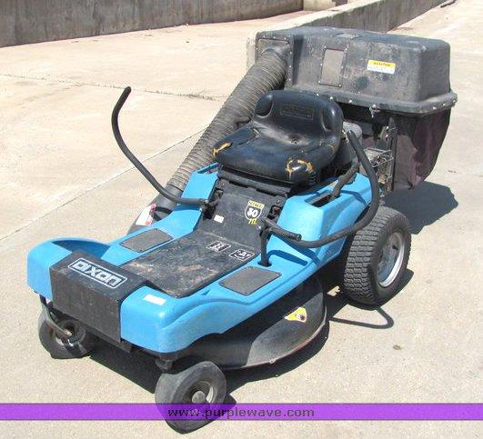 Dixon Zeeter 30 Riding Lawn Mower Item 4033 5 5 2010