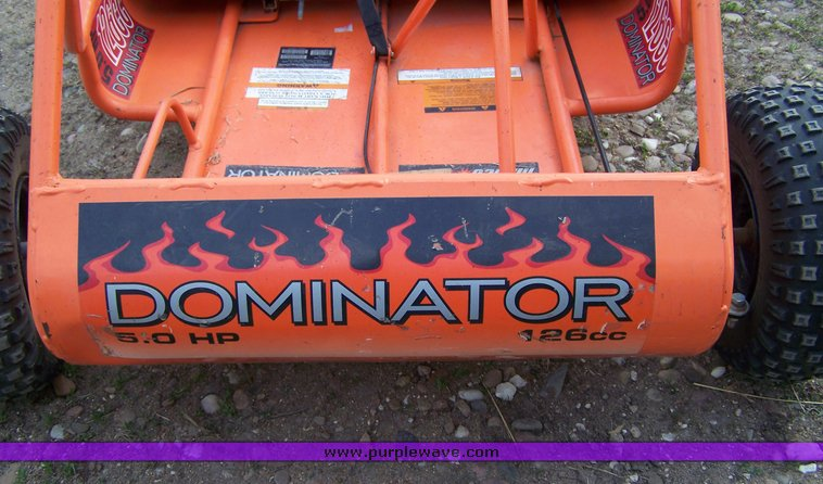 Dominator 126cc 5hp gocart | Item 8679 | SOLD! May 5 Midwest