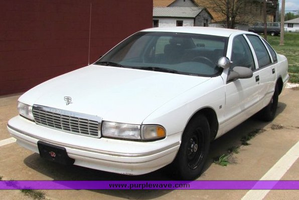 1995 Chevrolet Caprice | Item 4007 | SOLD! May 12 Government