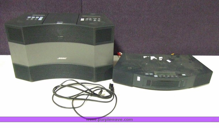Bose Acoustic Wave Music System II | Item 6736 | SOLD! May 1
