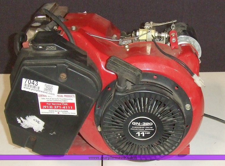 Generac GN-320 11hp OHV engine   Item 7043   SOLD! May 12 Go