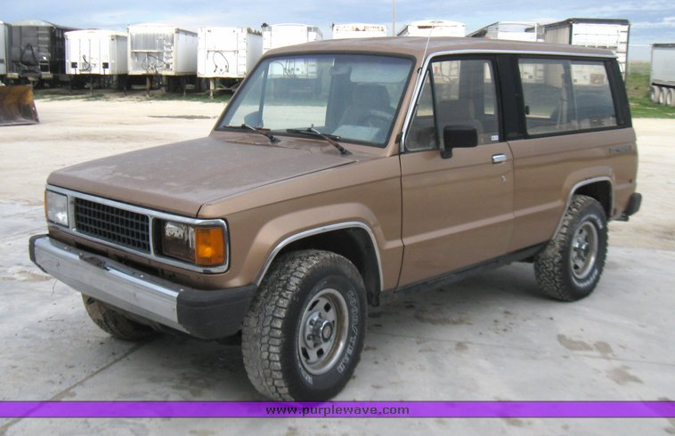 1987 isuzu trooper ii | item 7002 | sold! may 25 wilkens mfg