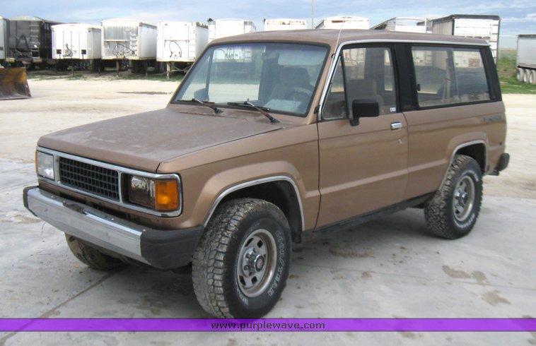 1987 Isuzu Trooper Ii Item 7002 Sold May 25 Wilkens Mfg