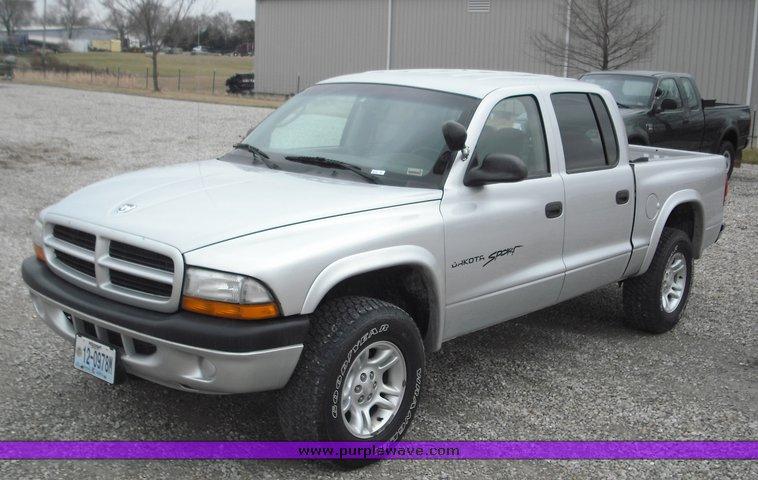 2001 Dodge Dakota four door extended cab pickup | Item 3278 ...
