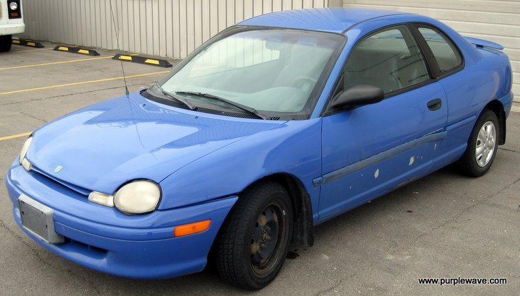 1996 Dodge Neon | Item 1200 | SOLD! May 26 Midwest Internet ... on nissan neon, fresh air door 2002 neon, exotic cars neon, dodge neon, harley-davidson neon, venom gt neon, mustang neon, plymouth neon,
