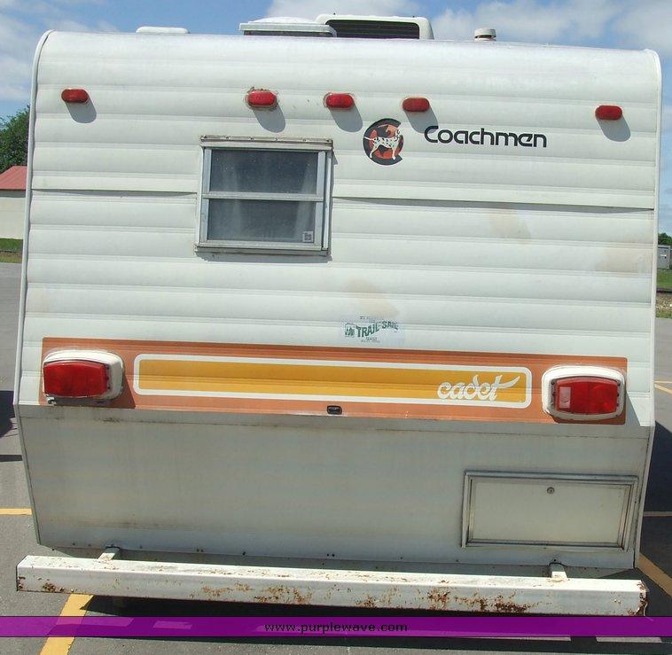 1979 Coachmen Cadet travel trailer camper | Item 2135 | SOLD